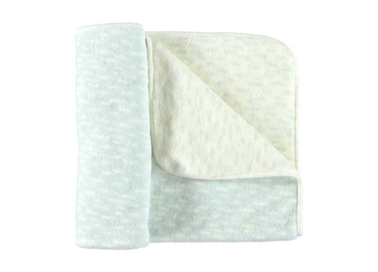 BLUE BABY BLANKET patches