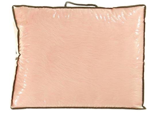 Decorative fur bedspread, blanket FOX pink 140x200 cm