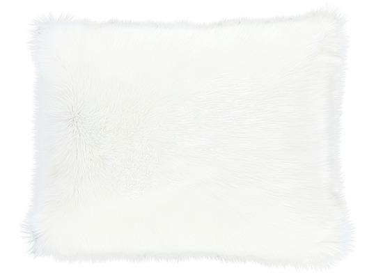 Faux fur pillow SHAGGY ecru 40x50 cm