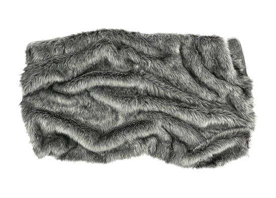 Koc, narzuta na łóżko, kanapę GRANDE PINI brunatny 155x200 cm