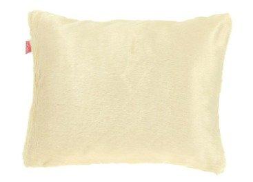 Futrzana poduszka dekoracyjna MINK kremowy 40x50 cm