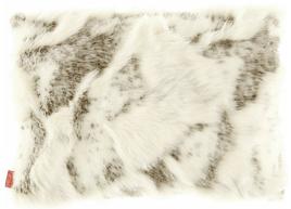 Decorative faux fur pillow GOAT