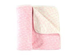 PINK BABY BLANKET patches