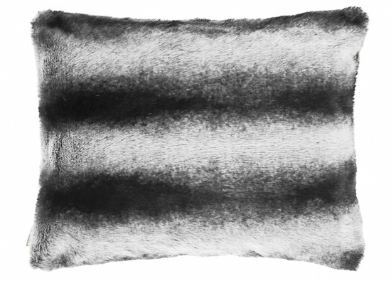 Decorative faux fur set ROYAL CHINCHILLA