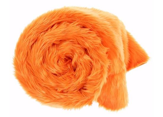 Decorative faux fur set MANDARA