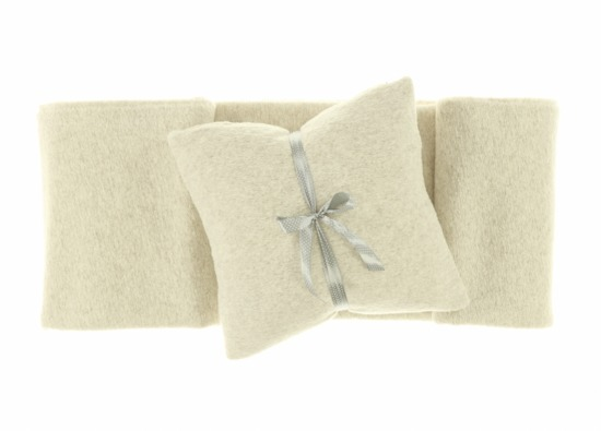 Pillow LOOP beige 45x45 cm