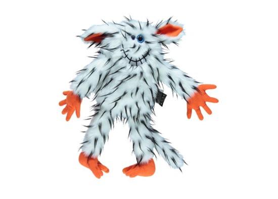 Stuffed fur toy, mascot JO-JO white