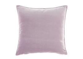 Poduszka Lila Różowa dekoracyjna z aksamitu ROMEO