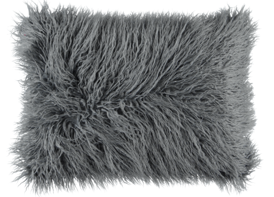 Poduszka dekoracyjna z futra LUMA
