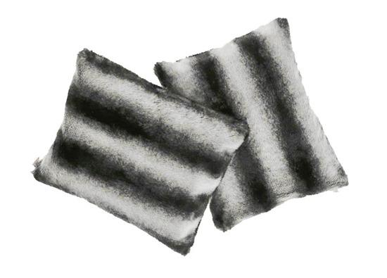 Poduszka dekoracyjna z futra ROYAL CHINCHILLA