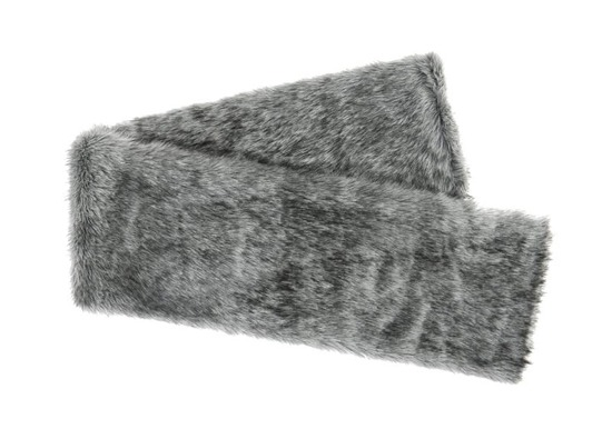 Koc, narzuta GRANDE PINI szary 155x200 cm