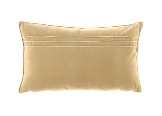 Poduszka z aksamitu JULIA beżowy 30x50 cm